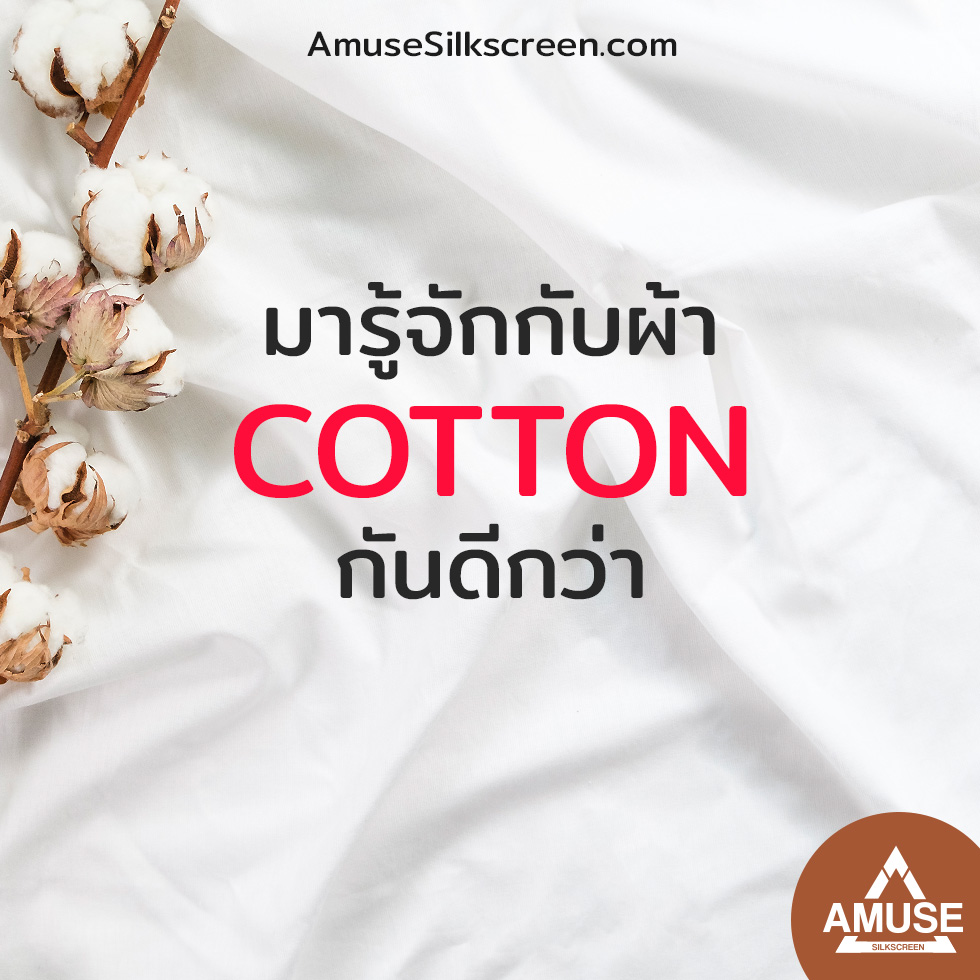 """มารู้จักกับ """"ผ้า Cotton """" กันดีกว่า"""