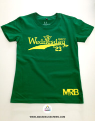 งานสกรีนสียาง Wednesday| Silkscreen By Amuse Silkscreen