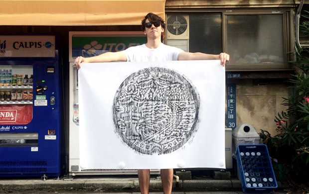 พิมพ์ฝาท่อ! ไอเดียสุดครีเอทจากญี่ปุ่น