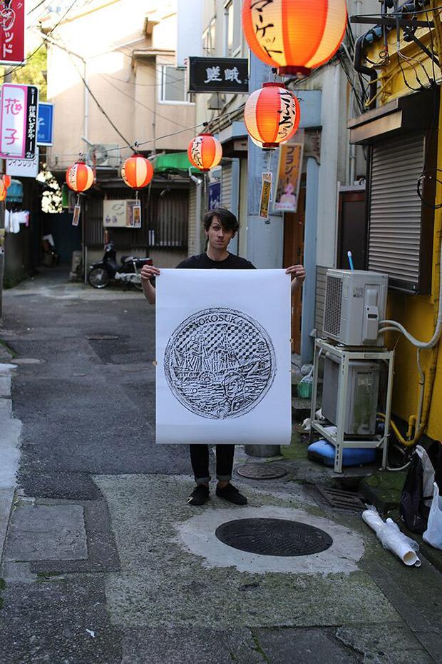 พิมพ์ฝาท่อ! idea สุดครีเอทจากญี่ปุ่น