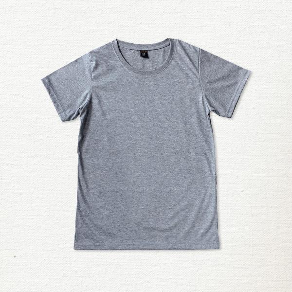 เสื้อยืด ผ้าคอตตอน คอกลม – สีเทาทอปดาย - AmuseSilkscreen.com