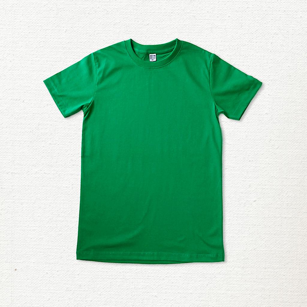 เสื้อยืด ผ้าคอตตอน คอกลม – สีเขียว - AmuseSilkscreen.com