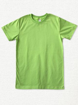เสื้อยืด ผ้าคอตตอน คอกลม – สีเขียวมะนาว - AmuseSilkscreen.com