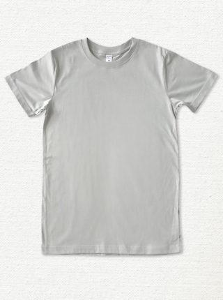 เสื้อยืด ผ้าคอตตอน คอกลม – สีเทาควันบุหรี่ - AmuseSilkscreen.com